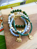 Tropical Greens - Meadow Bracelet Set