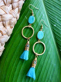 Tropical Greens - Anise Earrings