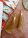 Golden Glow - Fallow Earrings