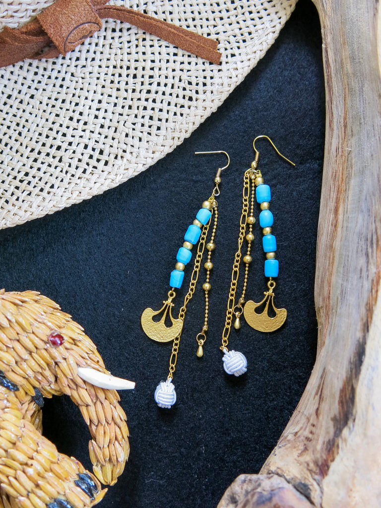 Savanna - Soweto Earrings in Turquoise