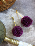 Savanna - Roux Earrings in Purple