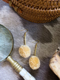 Savanna - Roux Earrings in Beige