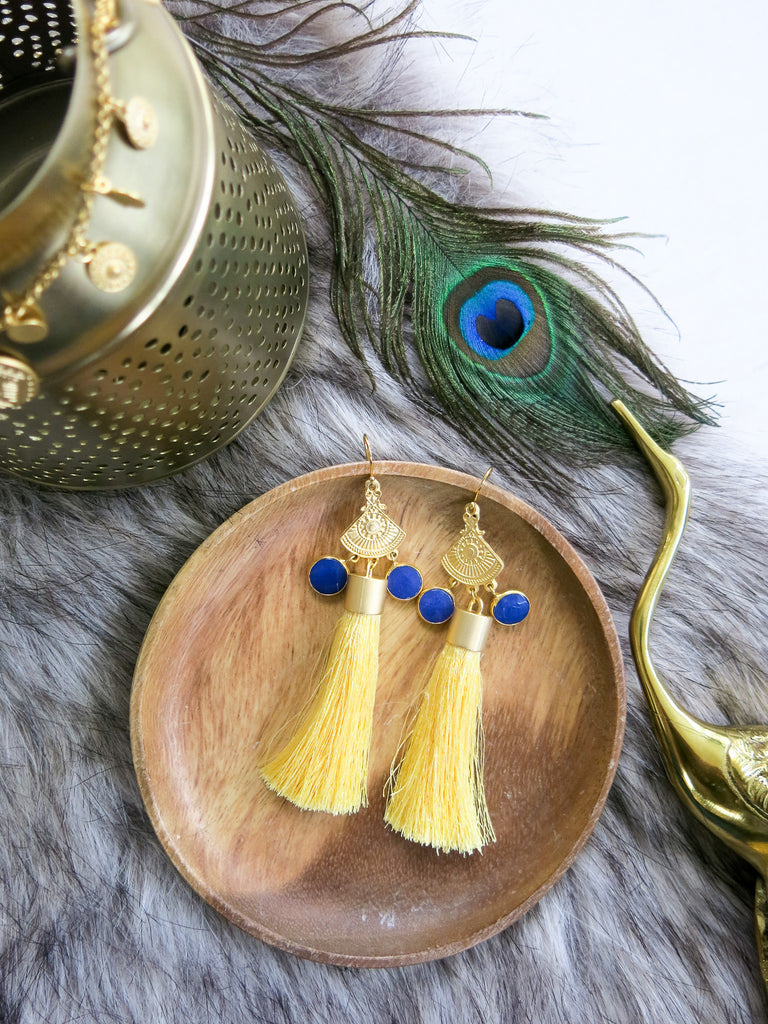 Savanna - Modena Earrings in Yellow