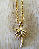 Coconut Tree Necklace