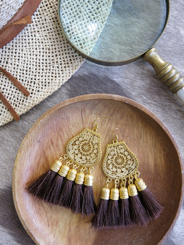 Savanna - Boka Earrings in Cedar