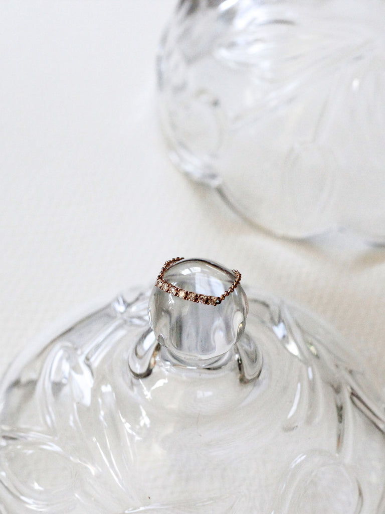 Heyjow Luxe - Nessa Ring in Rose Gold