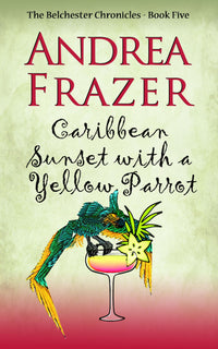 Caribbean Sunset with a Yellow Parrot - Accent Press