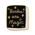 Books Are Magic Enamel Lapel Pin