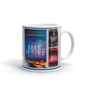 The Sara Jones Series by Terence Bailey Mug