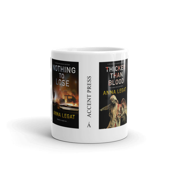 DI Gillian Marsh Mystery series by Anna Legat Mug