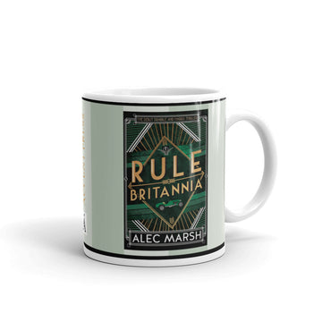 Rule Britannia by Alec Marsh Mug