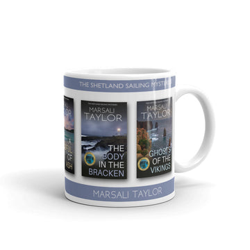 The Shetland Sailing Mysteries by Marsali Taylor Mug