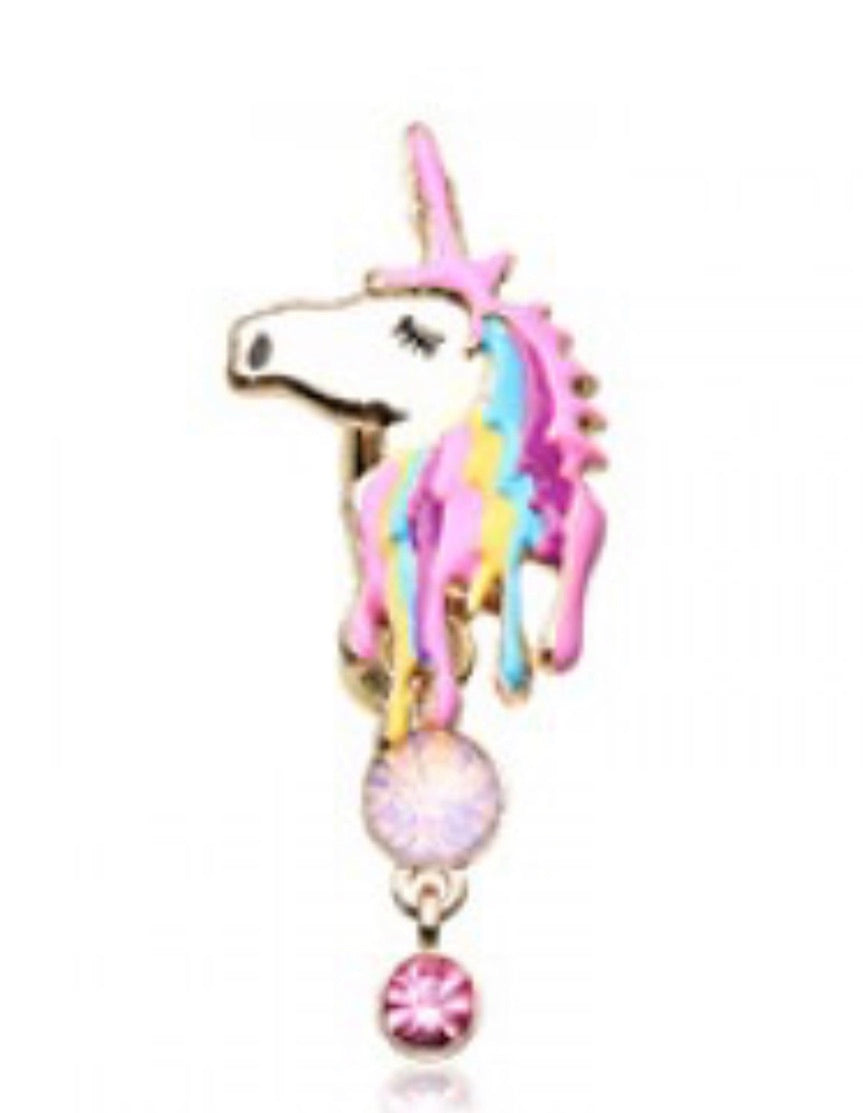 Magical Unicorn Belly Ring