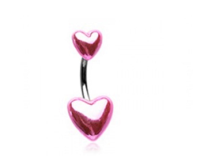 Valentine Heart Belly Ring