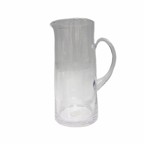 White Whale Glass Pitcher