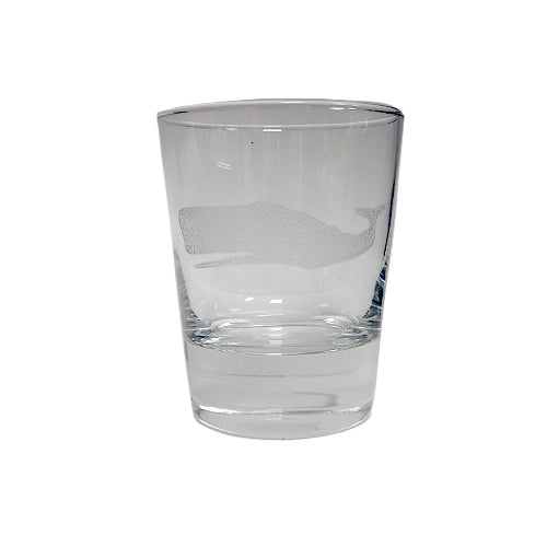 White Whale Double Old Fashioned Glass