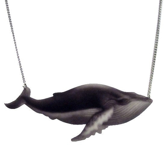 Humpback Necklace, Sterling