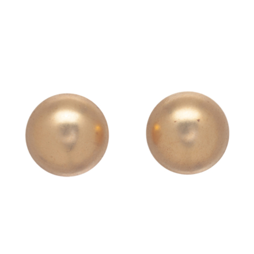 enewton 12mm Gold Button Earring