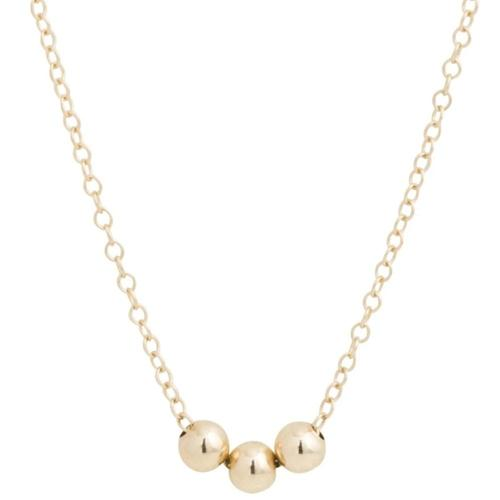 enewton Gold 3 Bead Necklace
