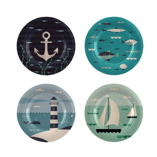 Nautical Side Plates