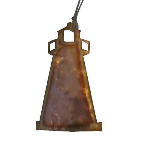 Copper Lighthouse Ornament