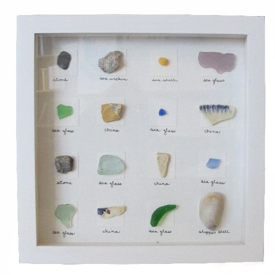 Sea Glass Shadowbox