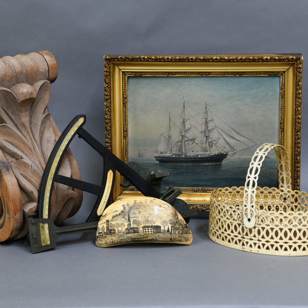 Maritime Weekend: Art, Antiques, & Scrimshaw