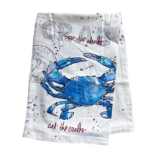 Eat the Crabs Towel