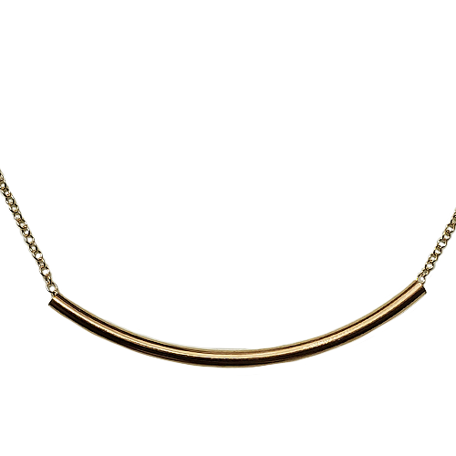enewton Bliss Bar Gold Necklace