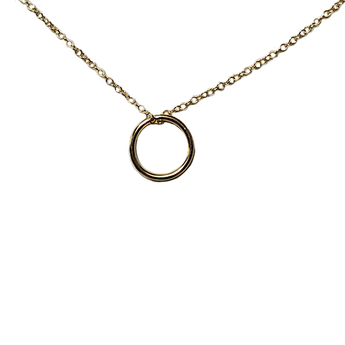 enewton Gold Halo Charm Necklace
