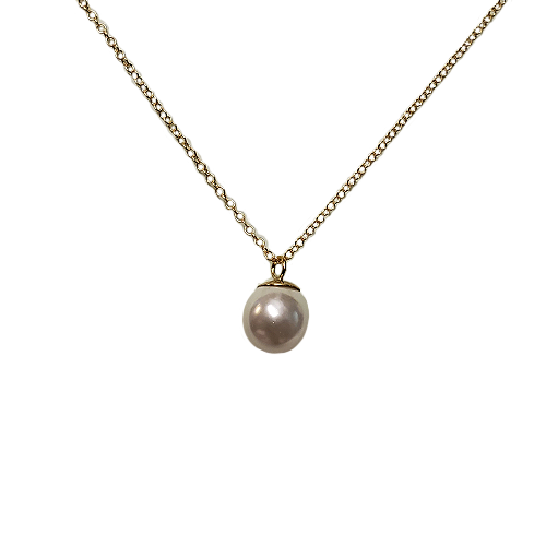 enewton Gold Pearl Charm Necklace