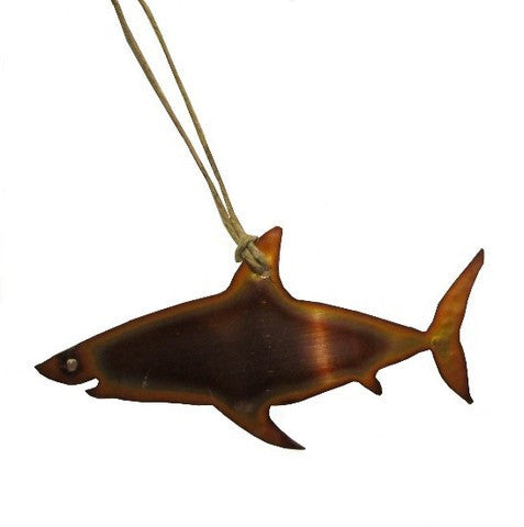 Copper Shark Ornament