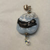 Large Hand Blown Glass Pendant