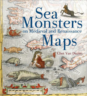Sea Monsters on Maps