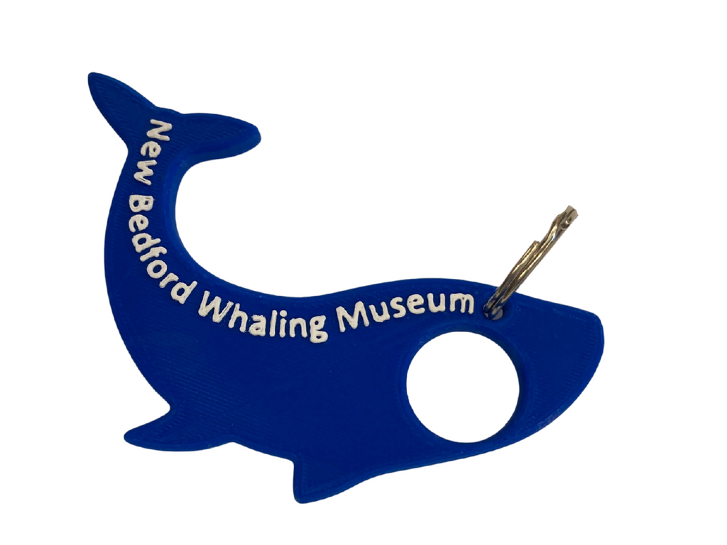 Touchless Whale Keychain