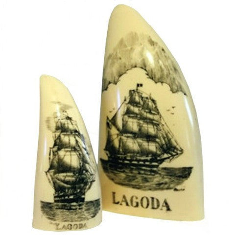Scrimshaw Lagoda Teeth