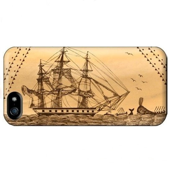 Scrimshaw iPhone Case