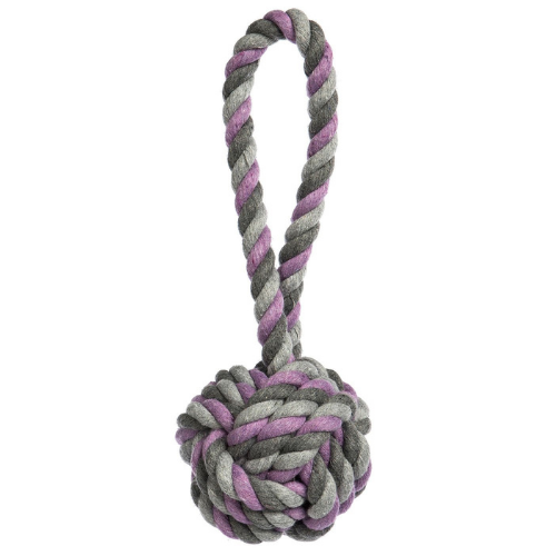 Tri-Color Knot Chew Toy