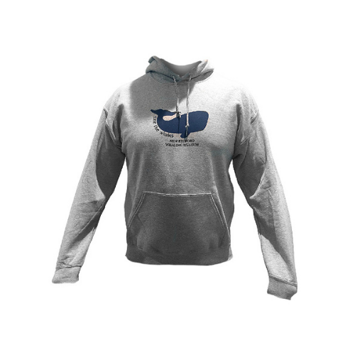 Children's Save the Whales Hooded Sweatshirt