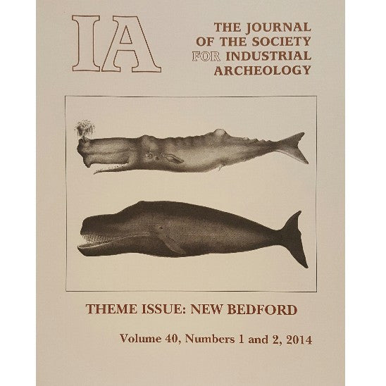 The Journal of the Society for Industrial Archeology
