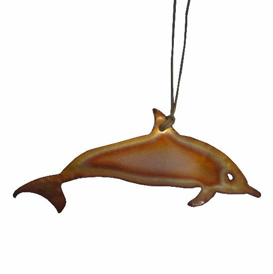 Copper Dolphin Ornament
