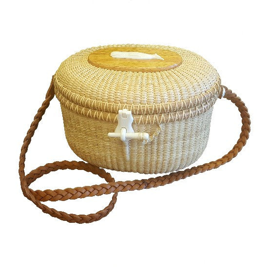 Handwoven Basket Purse