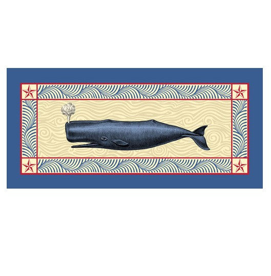 Blue Whale Table Runner