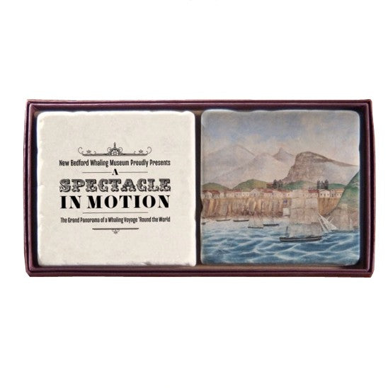Spectacle in Motion Stone Coaster Set