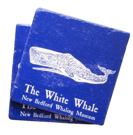 The White Whale Tile Coaster