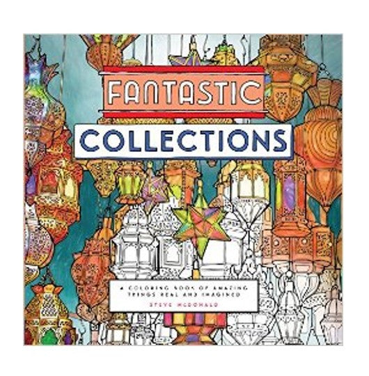 Fantastic Collections Coloring Book