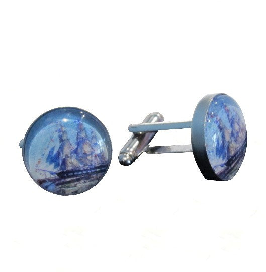 Charles W. Morgan Cuff Links