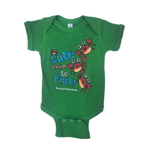 Baby Ocean NBWM Onsie, Cute Enough to Pinch