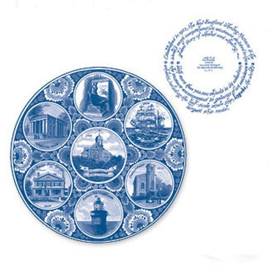 New Bedford Delftware Plate