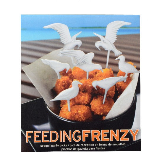 Feeding Frenzy Seagull Party Picks
